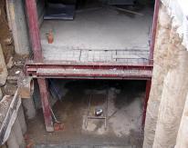 Первая в Новосибирске подземная автостоянка с лифтовым подъемником