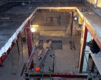 Монтаж всех металлоконструкций осуществлялся вручную.
